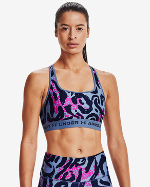 Under Armour Crossback Mid Print Bra