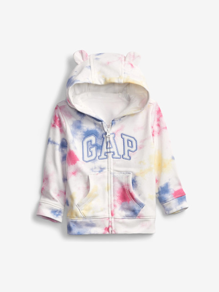 GAP Tie-Dye Logo Kids Sweatshirt