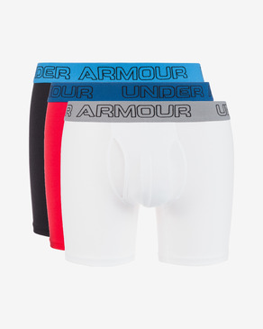 "Under Armour Charged Cotton® Stretch 6"" 3-pack Hipsters"